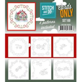 Cards Only Stitch 4K - 69 COSTDO10069