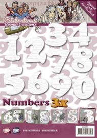 Layered Cards Number Book YCLC10001