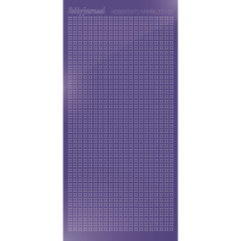 Hobbydots sticker Sparkles 01 Mirror Purple HSPM019