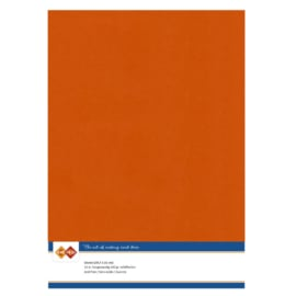 Linen Cardstock - A4 - Autumn Orange  LKK-A459