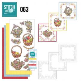 Stitch and Do 63 - Get Well soon STDO063