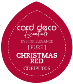 Card Deco Essentials Fade-Resistant Dye Ink Christmas Red CDEIPU006
