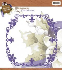 Precious Marieke - Glamorous Christmas - Christmas Frame PM10016