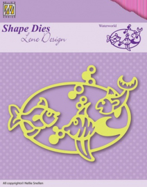 Shape Die Lene Design Waterworld SDL002