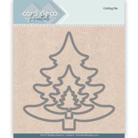 Card Deco Essentials Cutting Dies Christmas Tree CDECD0026