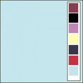 LinnenArt kaartkarton 30,5 x 30,5 Babyblauw 27 LKK-SC27
