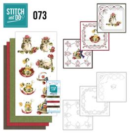 Stitch and Do 73 - Get well soon STDO073