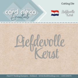 Card Deco Essentials - Dies - Liefdevolle Kerst CDECD0079
