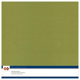 Craft linnenkarton 30,5 x 30,5 Olijfgroen 46 LKK-SC46