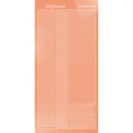 Hobbydots sticker - Mirror - Salmon 001 STDM01K
