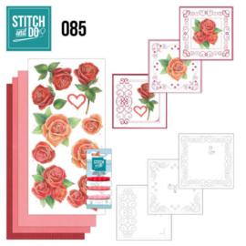 Stitch and Do 85 - Roses STDO085