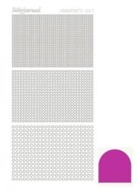 Hobbydots sticker Mirror Pink 007 STDM07F