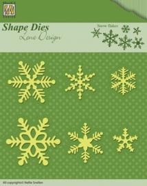 Shape Dies - Lene Design - Snowflakes SDL029