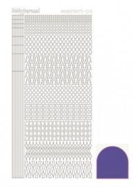 Hobbydots sticker Mirror Violet 015 STDM156