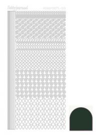Hobbydots sticker - Mirror Christmas Green 019 STDM19j