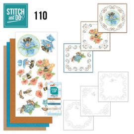 Stitch and Do 110 Bees and Flowers STDO110