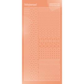 Hobbydots sticker - Mirror - Salmon 011 STDM11K