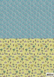 Background sheets - Yvonne Creations - Summer Holiday SETBGS10003