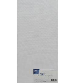 Joy Papierset Linnen Structuur 15x30cm 8099/0261