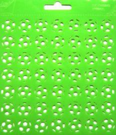 Joy embossing stencil vierkant 6002/0816
