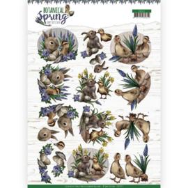 3D cutting sheet - Amy Design - Botanical Spring - Best Friends CD11472