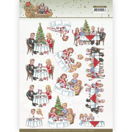 3D Cutting Sheet - Yvonne Creations - The Heart of Christmas - Dining CD11729