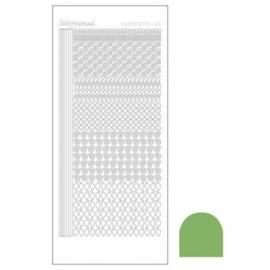 Hobby dots sticker Mirror Lime 019 STDM19C