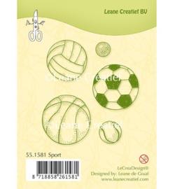 Leane Creatief Clear Stamp - Sport 55.1581