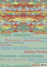 Background sheets - Yvonne Creations - Summer Holiday SETBGS10001