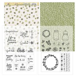 Mica Sheets - Precious Marieke - Blooming Summer PMMC1001