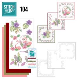 Stitch and Do 104 In the Tropics STDO104