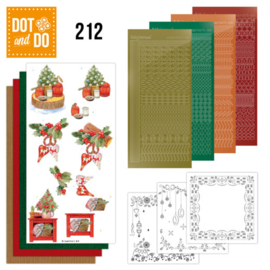 Dot and Do 212 - Jeanine's Art - Christmas Cottage