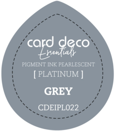 Card Deco Essentials Fast-Drying Pigment Ink Pearlescent Grey CDEIPL022