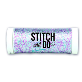 Stitch and Do Sparkles Embroidery Thread - Multicolor Blue SDCDS21