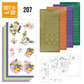 Dot and Do 207 - Jeanine's Art - Exotic Flowers DODO207