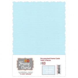 Frame Cards - Accolade - A5 - Baby blauw FCA51000327