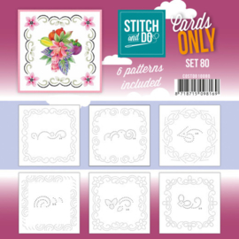 Stitch and Do - Cards Only Stitch 4K - 80 COSTDO10080