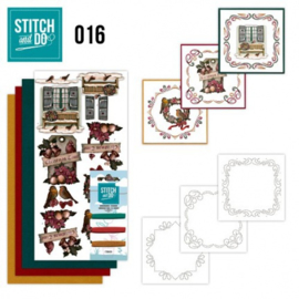 Stitch and Do 16 - Brocante kerst STDO016