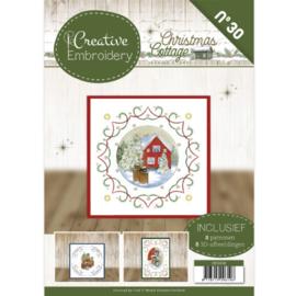 Creative Embroidery 30 - JA - Christmas Cottage CB10030