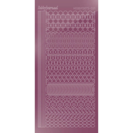Hobbydots sticker - Mirror - Violet 021 STDM216