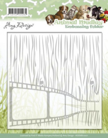 Embossing Folder - Amy Design - Animal Medley ADEMB10001