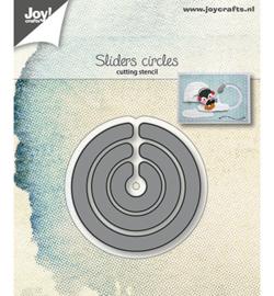 6002/1239 - Snijstencils - Slider-cirkels