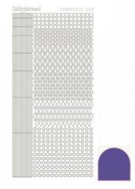 Hobby dots sticker mirror Purple 009 STDM099
