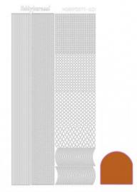 Hobby dots sticker mirror copper 001 STDM01B