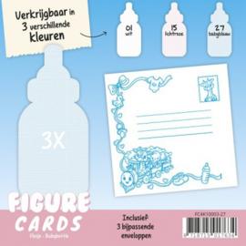 Figure Cards - Flesje - Babyblauw FC4K10003-27