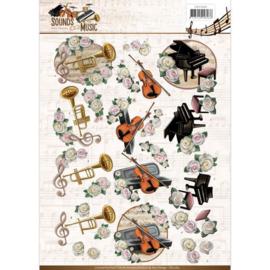 3D Knipvel - Amy Design - Sounds of Music - Classic CD11063