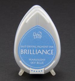 Brilliance Dew Drop - Pearlescent Sky Blue BD-38