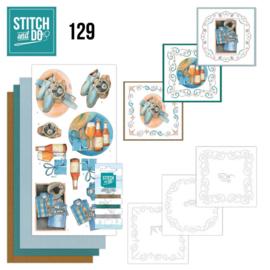 Stitch and Do 129 - Jeanine's Art - Gifts for Men STDO129