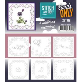 Cards Only Stitch 4K - 68 COSTDO10068
