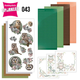 Sparkles Set 43 - Amy Design - Amazing Owls - Romantic Owls SPDO043